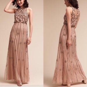 BHLDN / Anthropologie Amada Dress / Sequin Gown